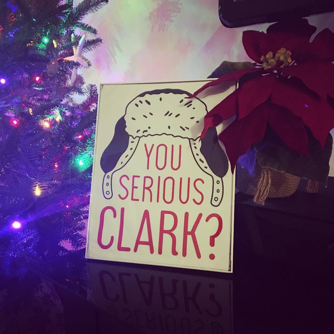 You serious Clark?